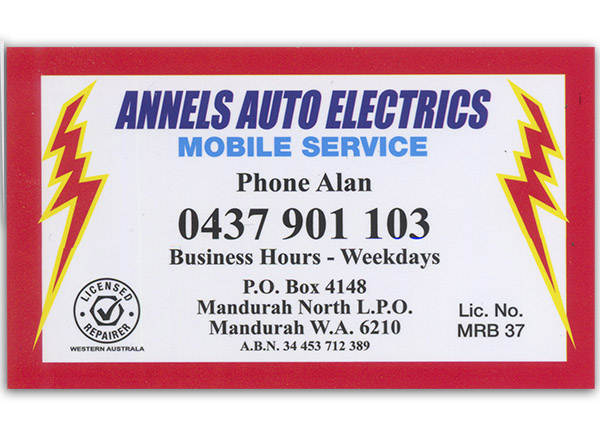 Annels Auto Electrics