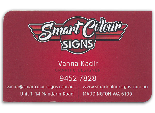 Smart Colour Signs